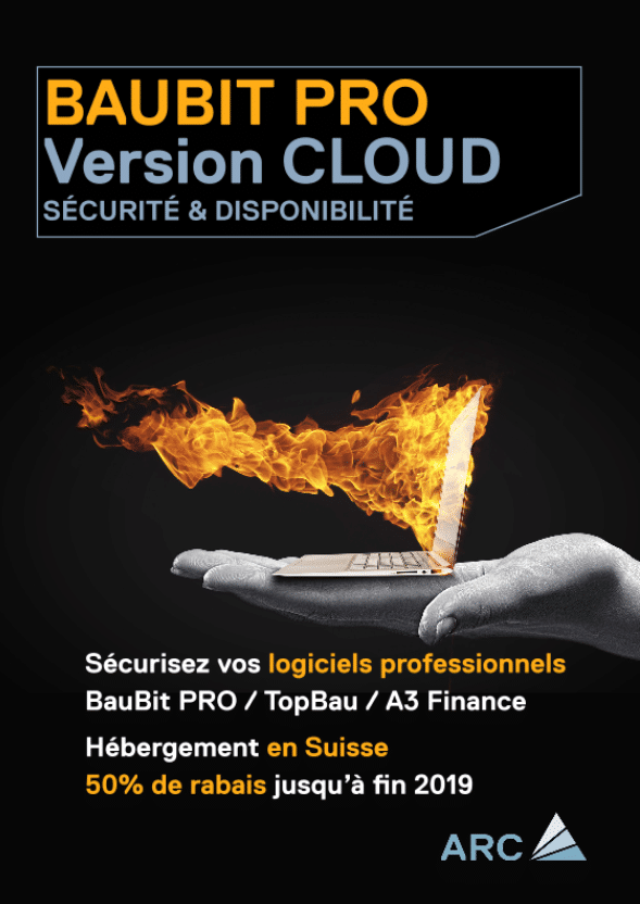 Arc Logiciels Flyer IT Cloud